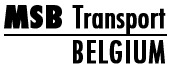 Logo MSP Transport Belgium