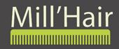 Logo Mill'Hair - Di Gloria Gino