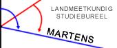 Logo Landmeetkundig studiebureel Martens