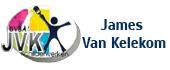Logo Schilder- en behangwerken Van Kelekom James