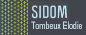 Logo SIDOM - Tombeux Elodie - Colla Bernard