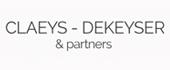 Logo Claeys-Dekeyser & partners