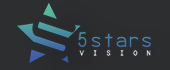 Logo 5 stars vision