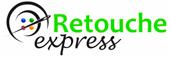 Logo Retouche express