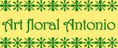Logo Art floral Antonio