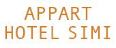 Logo Appart Hotel Simi
