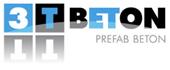 Logo 3 T Prefab Beton
