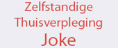 Logo Zelfstandige thuisverpleging Joke