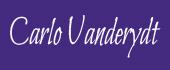 Logo Carlo Vanderydt