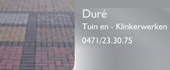 Logo Duré Tuin- en Klinkerwerken