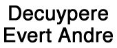 Logo Decuypere Evert Andre