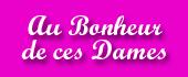 Logo Au Bonheur de ces Dames