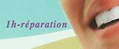 Logo 1h réparation