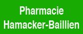 Logo Pharmacie Hamacker-Baillien