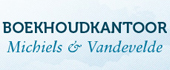 Logo Boekhoudkant. Michiels & Vandevelde