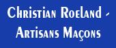 Logo Christian Roeland - Artisans Maçons