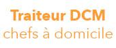 Logo Traiteur DCM chefs à domicile