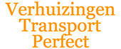 Logo Verhuizingen- Transport Perfect