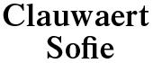 Logo Clauwaert Sofie
