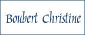 Logo Boubert Christine
