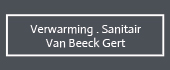Logo Verwarming - Sanitair Van Beeck Gert