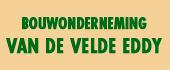 Logo Bouwonderneming Van De Velde Eddy