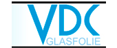 Logo VDC Glasfolie