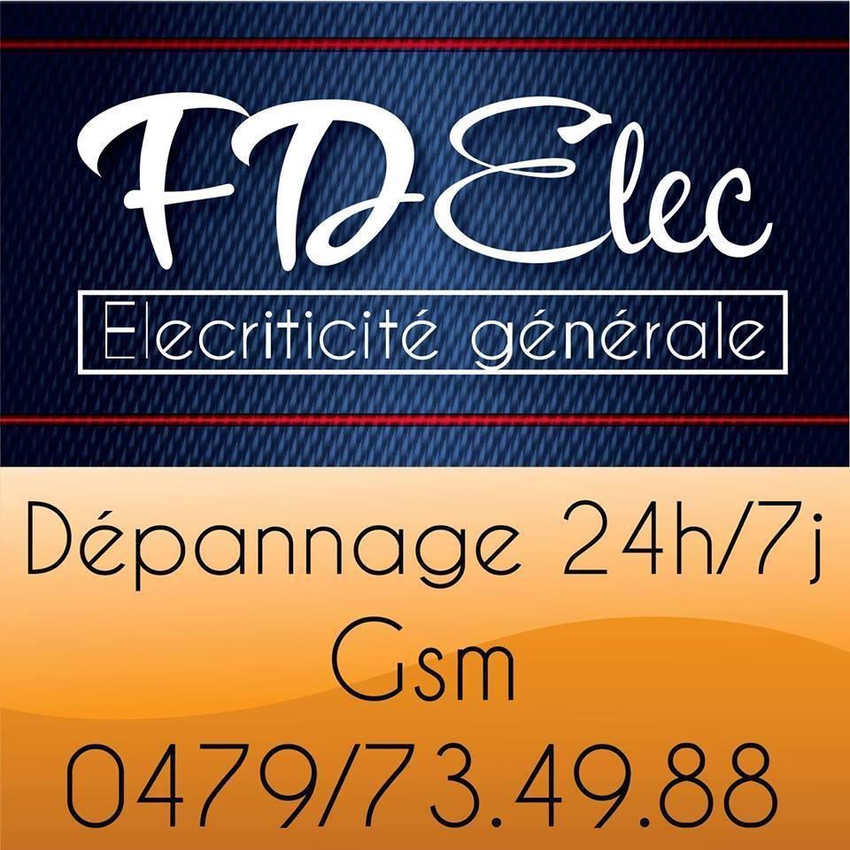 Logo FD Elec Electricité Générale