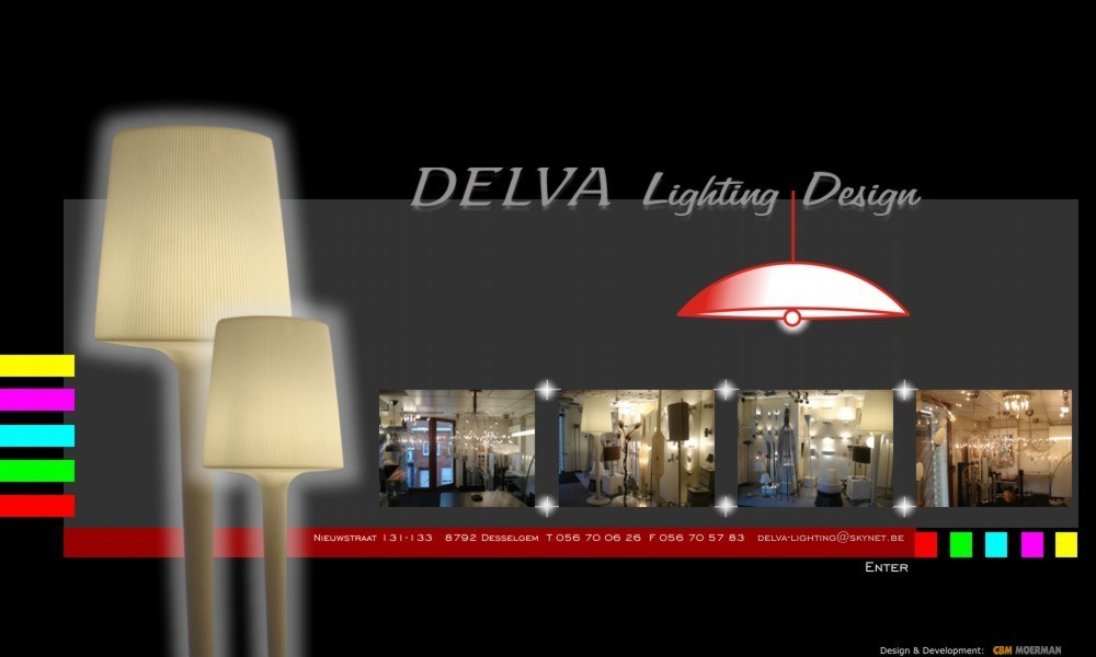 Logo Delva Lighting Design