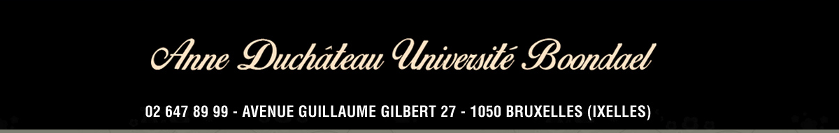 Logo Anne Duchâteau Université Boondael
