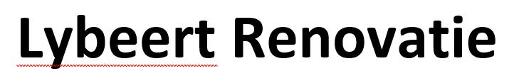 Logo Lybeert Renovatie