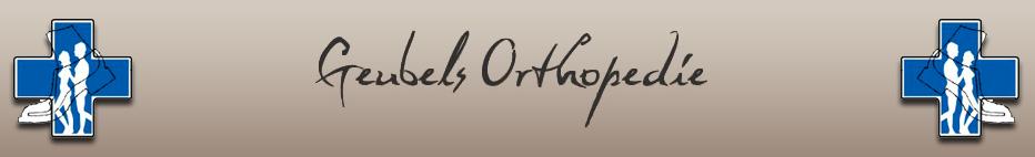 Logo Geubels Orthopedie (Magazijn-Geen bezoekadres)