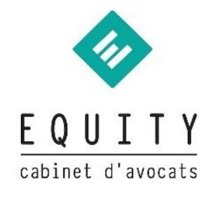 Logo EQUITY - Cabinet d'avocats