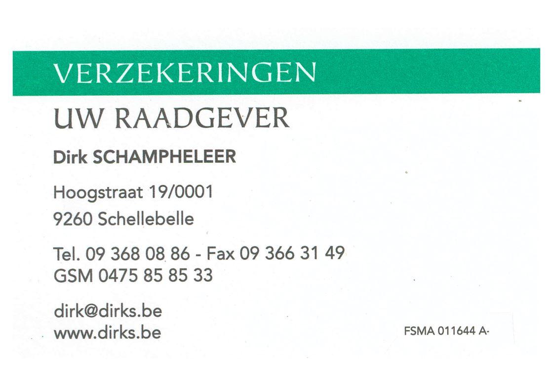 Logo Schampheleer Dirk