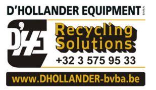 Logo D'Hollander Equipment BVBA