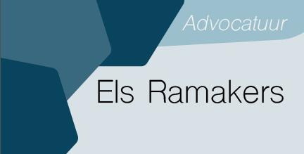 Logo Advocaat Els Ramakers