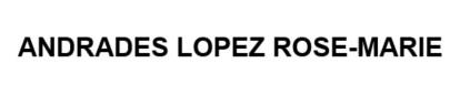 Logo Andrades Lopez Rose-Marie