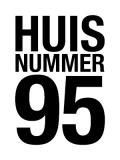 Logo Huisnummer 95