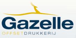 Logo Drukkerij Gazelle