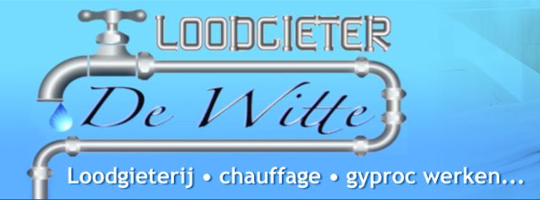 Logo Loodgieter De Witte