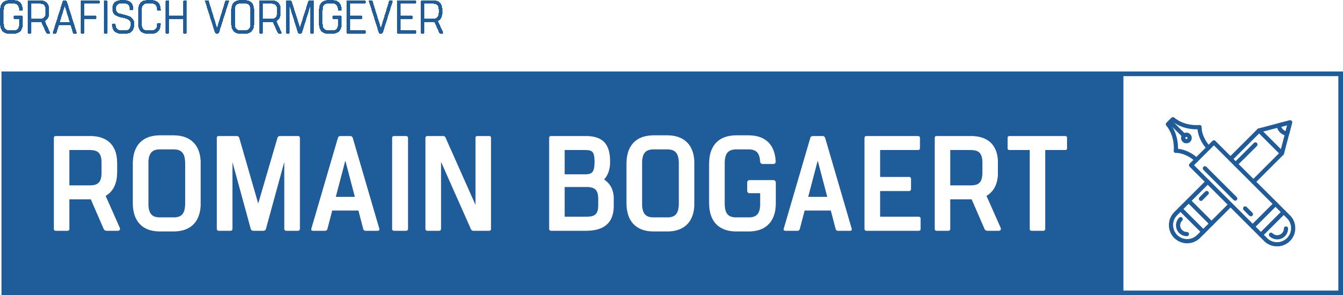 Logo Bogaert Romain Grafisch Vormgever