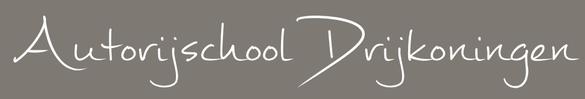 Logo DRIJKONINGEN AUTORIJSCHOOL