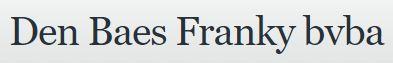 Logo Den Baes Franky