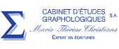 Logo CABINET D'ETUDES GRAPHOLOGIQUES M-TH. CHRISTIANS
