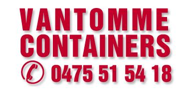 Logo CONTAINERVERHUUR Vantomme Containers