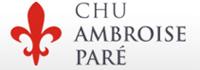 Logo C.H.U. Ambroise Paré