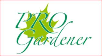 Logo Pro Gardener
