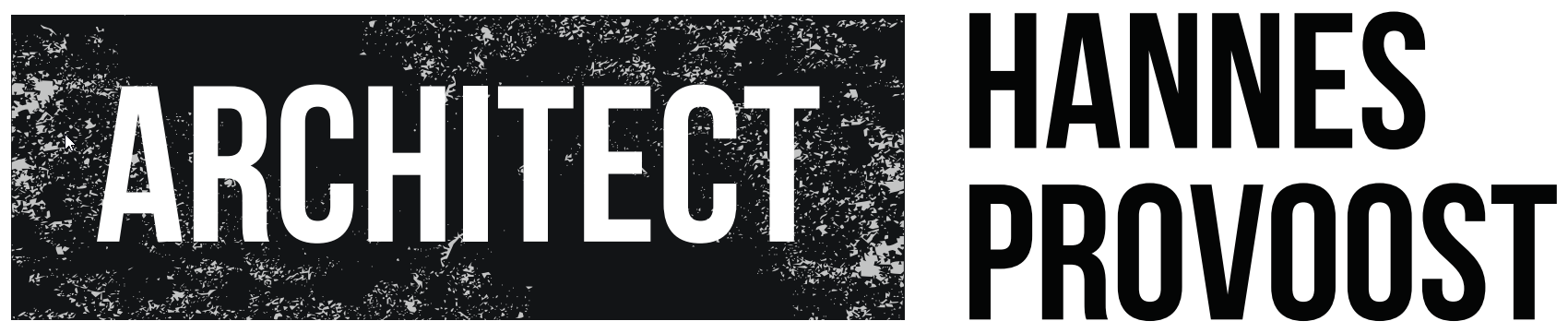 Logo Architect Hannes Provoost