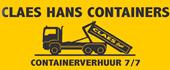 Logo Claes Containers - afbraakwerken - grondwerken
