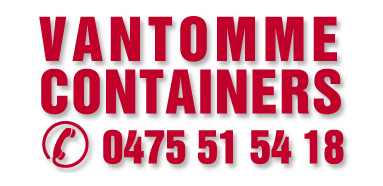 Logo CONTAINERVERHUUR Vantomme Containers